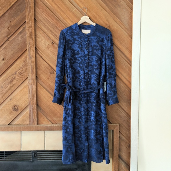 Gal Meets Glam Dresses & Skirts - GAL MEETS GLAM Frances Empress Damask Shirtdress